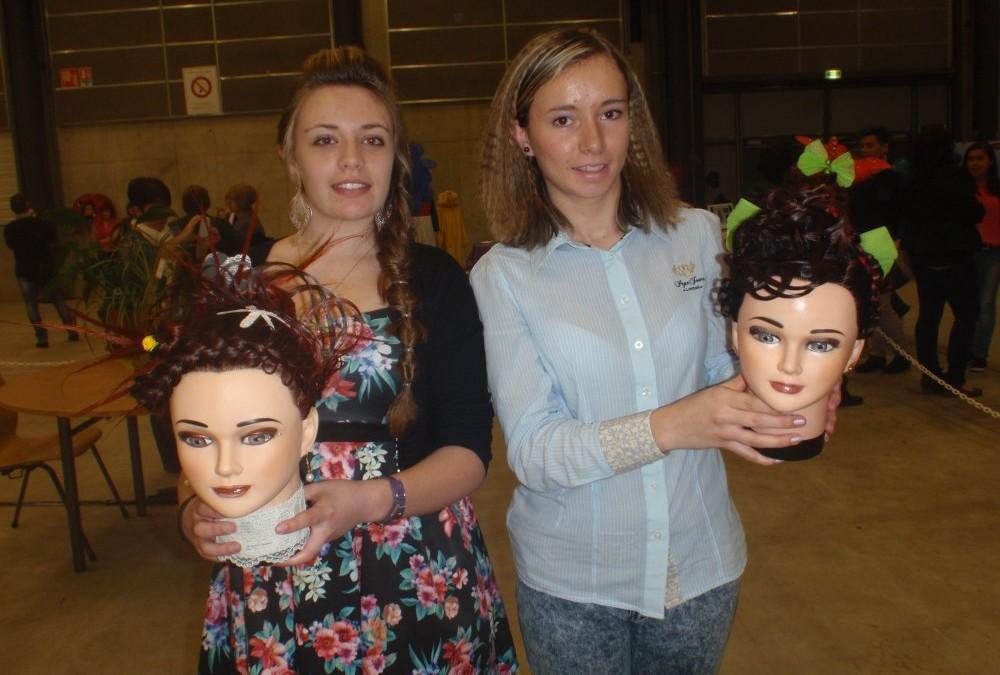 Concours coiffure : 2 élèves en compétition