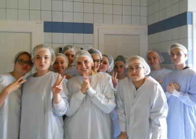visite de la blanchisserie du centre hospitalier de Decize