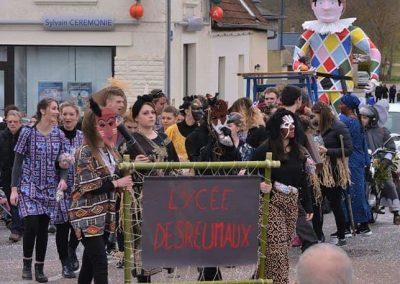 Défilé de carnaval à Decize