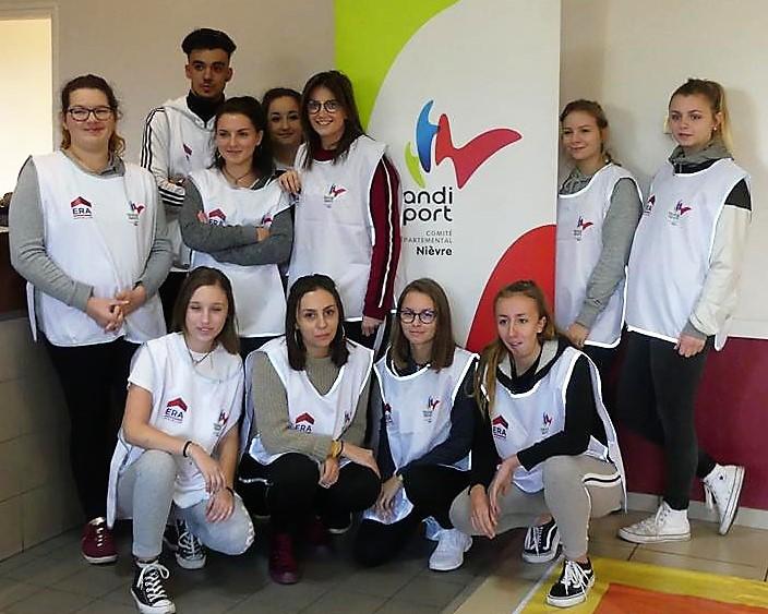 Handisport : nos élèves au cœur des épreuves !
