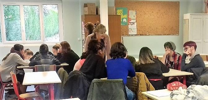 Une intervention du CDPEF attendue et appréciée des élèves