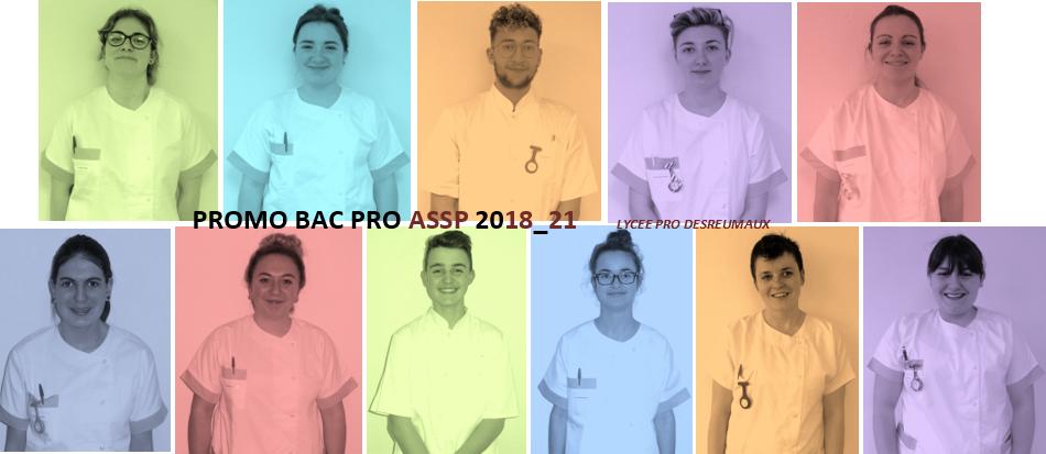 Les 2ndes ASSP passent à la tenue pro !